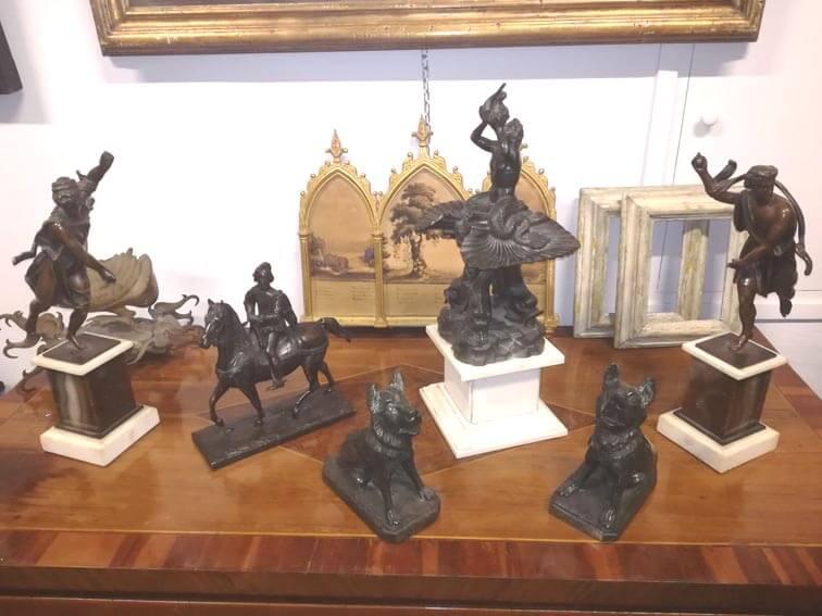 vendita statue antiche roma