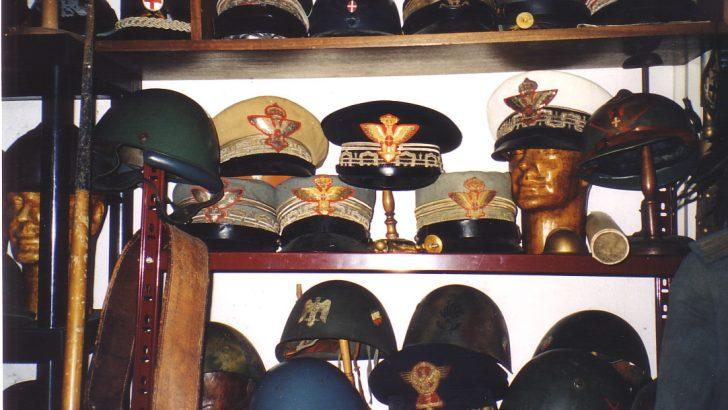 Antiquariato militare Roma, Firenze e Napoli
