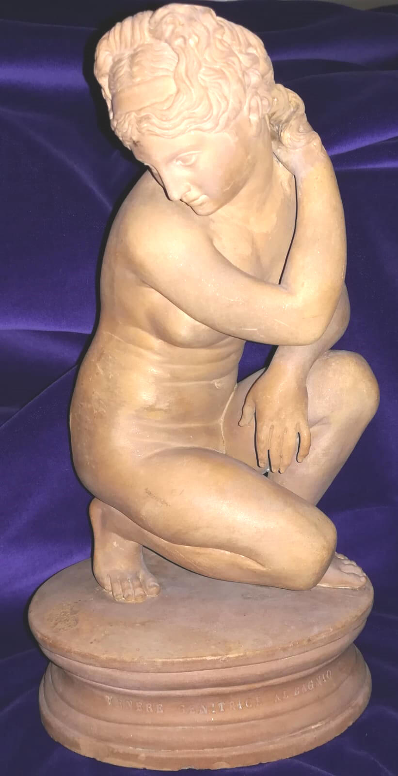 Scultura in terracotta antica