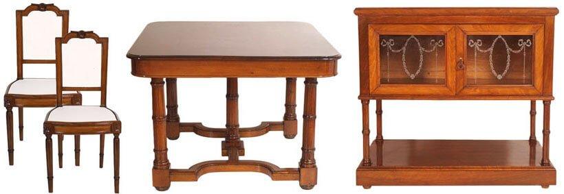 mobili antichi stile 900